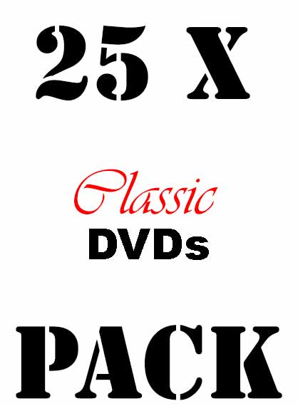 Gdn Packs 25xclassicdvds
