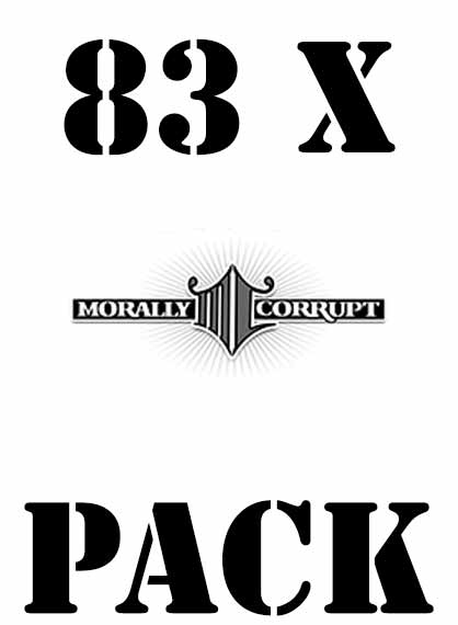 Gdn Pack 83xmorallycorrupt